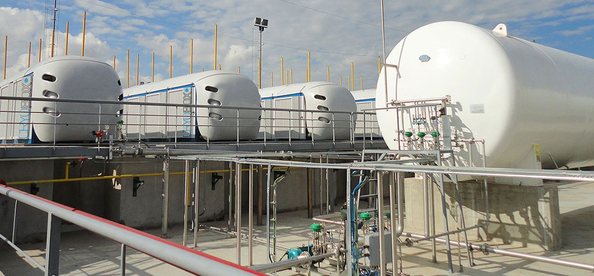 Product LNG Liquefied Natural Gas nano lng station